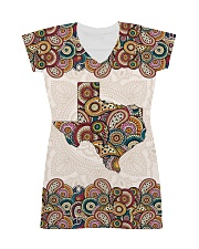 Texas Mandala Pattern T5TO All-Over Dress tile