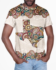Texas Mandala Pattern T5TO All-over T-Shirt aos-all-over-T-shirt-lifestyle-front-03
