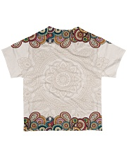 Texas Mandala Pattern T5TO All-over T-Shirt back