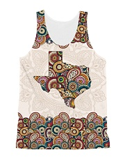 Texas Mandala Pattern T5TO All-Over Unisex Tank tile