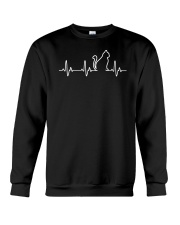 Cat Heartbeat Crewneck Sweatshirt thumbnail