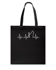 Cat Heartbeat Tote Bag thumbnail