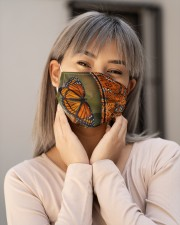 Abstract Monarch Butterfly G82809 Cloth Face Mask - 3 Pack aos-face-mask-lifestyle-17