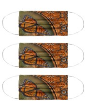 Abstract Monarch Butterfly G82809 Cloth Face Mask - 3 Pack front