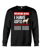 DOGS - LABRADOR RETRIEVER - BREAKING NEWS Crewneck Sweatshirt thumbnail