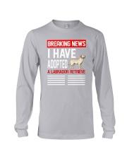 DOGS - LABRADOR RETRIEVER - BREAKING NEWS Long Sleeve Tee thumbnail