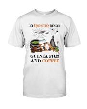 Guinea Pigs Run On Classic T-Shirt thumbnail