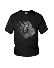Bear PawPrint Youth T-Shirt thumbnail