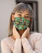 Tropical Pineapple Otter H30738 Cloth face mask aos-face-mask-lifestyle-17
