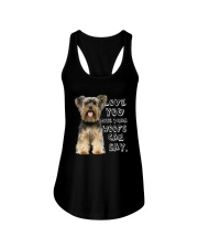Yorkshire Terrier Love You More Than Woofs T5TS Ladies Flowy Tank thumbnail