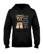 Yorkshire Terrier Love You More Than Woofs T5TS Hooded Sweatshirt thumbnail