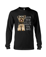 Yorkshire Terrier Love You More Than Woofs T5TS Long Sleeve Tee thumbnail