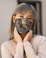 Deer Hunting T825 Cloth face mask aos-face-mask-lifestyle-17