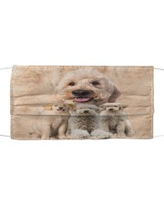 Awesome Goldendoodle G82736 Cloth face mask front