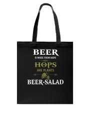 Beer Hops Tote Bag thumbnail
