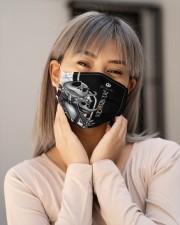 Jack Skellington T828 Cloth face mask aos-face-mask-lifestyle-17