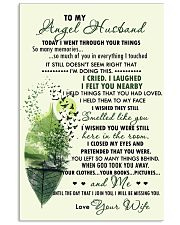 Family - To My Angel Husband Today 11x17 Poster front