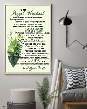 Family - To My Angel Husband Today 11x17 Poster lifestyle-poster-1