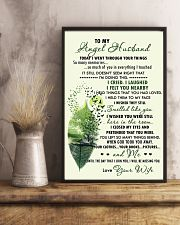Family - To My Angel Husband Today 11x17 Poster lifestyle-poster-3