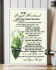 Family - To My Angel Husband Today 11x17 Poster lifestyle-poster-4