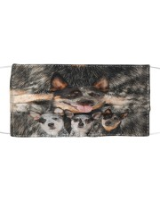 Awesome Australian Cattle Dog G82702 Cloth face mask front