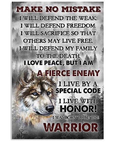 Wolf Be born to be the Warrior