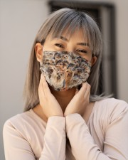Yorkshire Terrier Awesome H25847 Cloth face mask aos-face-mask-lifestyle-17