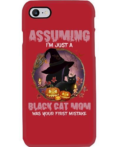 Assuming Black Cat Mom