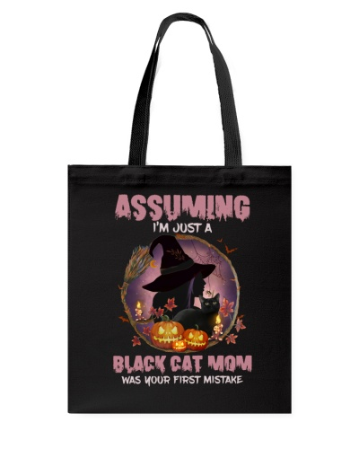 Assuming Black Cat Mom