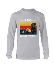 I Do What I Want Dachshund G5930 Long Sleeve Tee thumbnail
