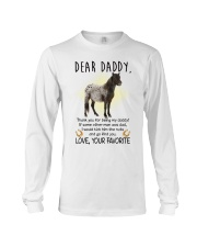 Miniature Horse Daddy Long Sleeve Tee thumbnail