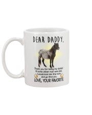 Miniature Horse Daddy Mug back