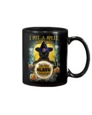 Black cat I put a spell on you Mug thumbnail