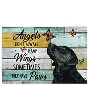 Labrador Retriever Angel 17x11 Poster front