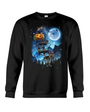 Rottweiler - Witch sleigh Crewneck Sweatshirt tile
