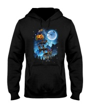 Rottweiler - Witch sleigh Hooded Sweatshirt thumbnail