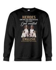 English Springer Spaniel Heroes Crewneck Sweatshirt thumbnail