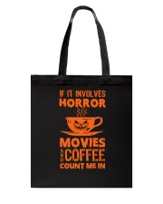Halloween - Horror coffee Tote Bag thumbnail
