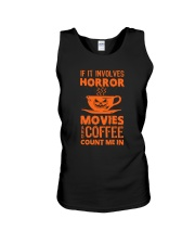 Halloween - Horror coffee Unisex Tank thumbnail