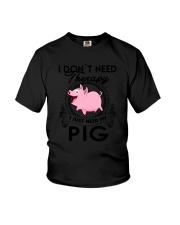 Farm Pig Therapy Youth T-Shirt thumbnail