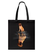 Bullmastiff In Dream Tote Bag thumbnail