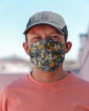 Bullmastiff Pumpkin T827 Cloth face mask aos-face-mask-lifestyle-06