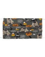 Bullmastiff Pumpkin T827 Cloth face mask front
