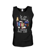 Read Books Unisex Tank thumbnail