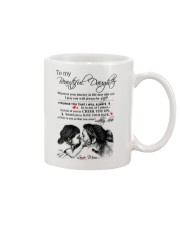 Family Daughter You Aren't Walk Alone Mug front