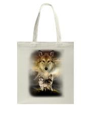 Wolf Proud Tote Bag thumbnail
