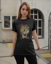 Wolf Proud Classic T-Shirt apparel-classic-tshirt-lifestyle-19