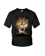 Wolf Proud Youth T-Shirt thumbnail