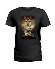 Wolf Proud Ladies T-Shirt thumbnail