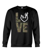 Hunting Love Hunting  Crewneck Sweatshirt thumbnail